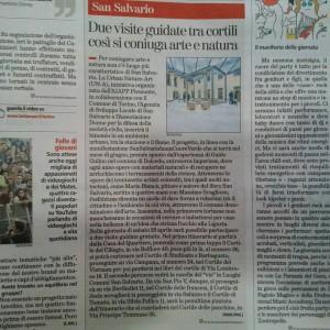 articolo cortili La Stampa