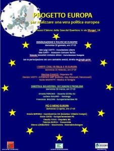 4 incontri sull'Europa